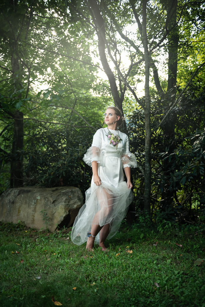 Nature-Inspired Wedding Portrait Sabrina L. Greene Art & Photography