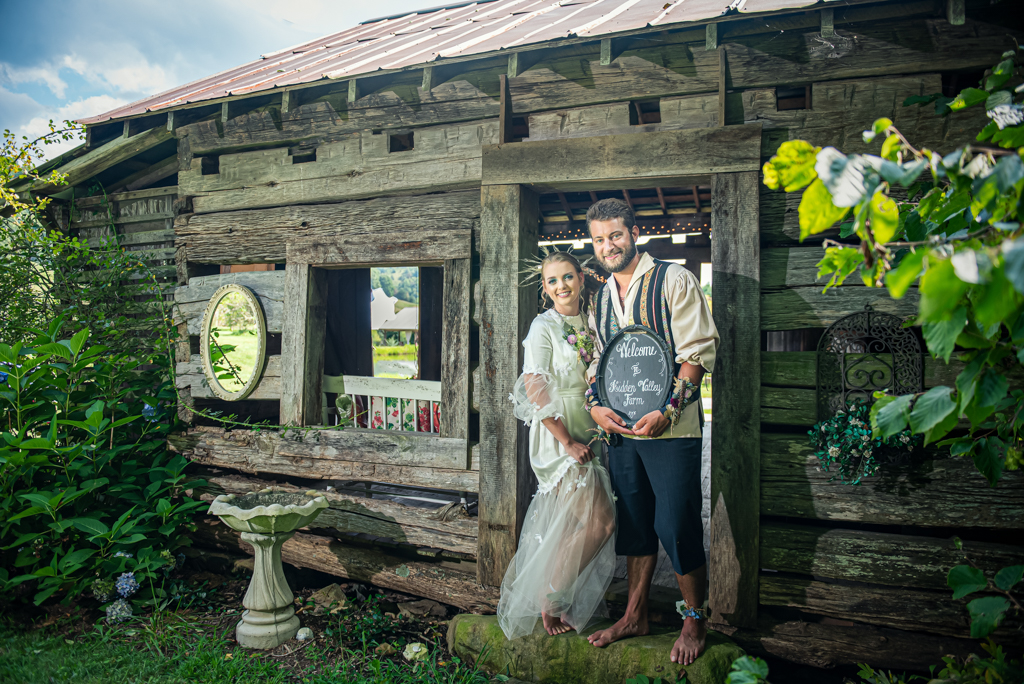 Rustic Log Cabin Wedding