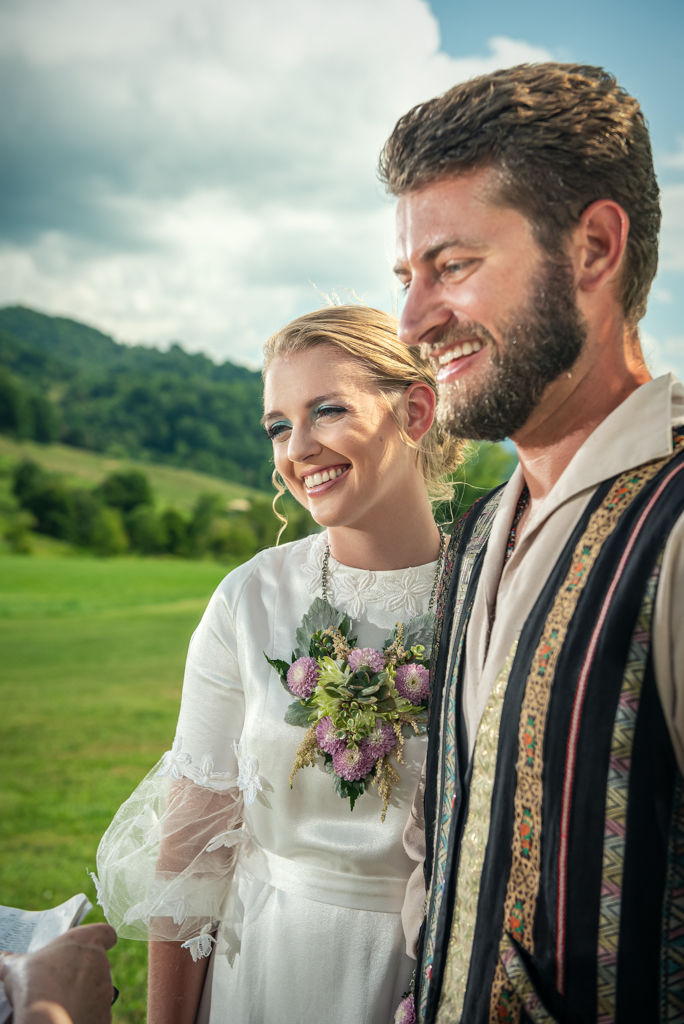 Bride & Groom at Hidden Valley Farm-Sabrina L Greene Photography