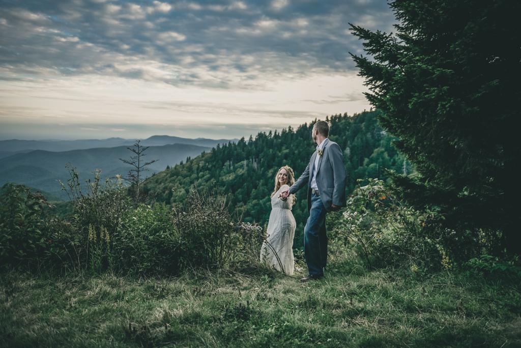 Blue Ridge Parkway Elopement Photographer Sabrina L Greene