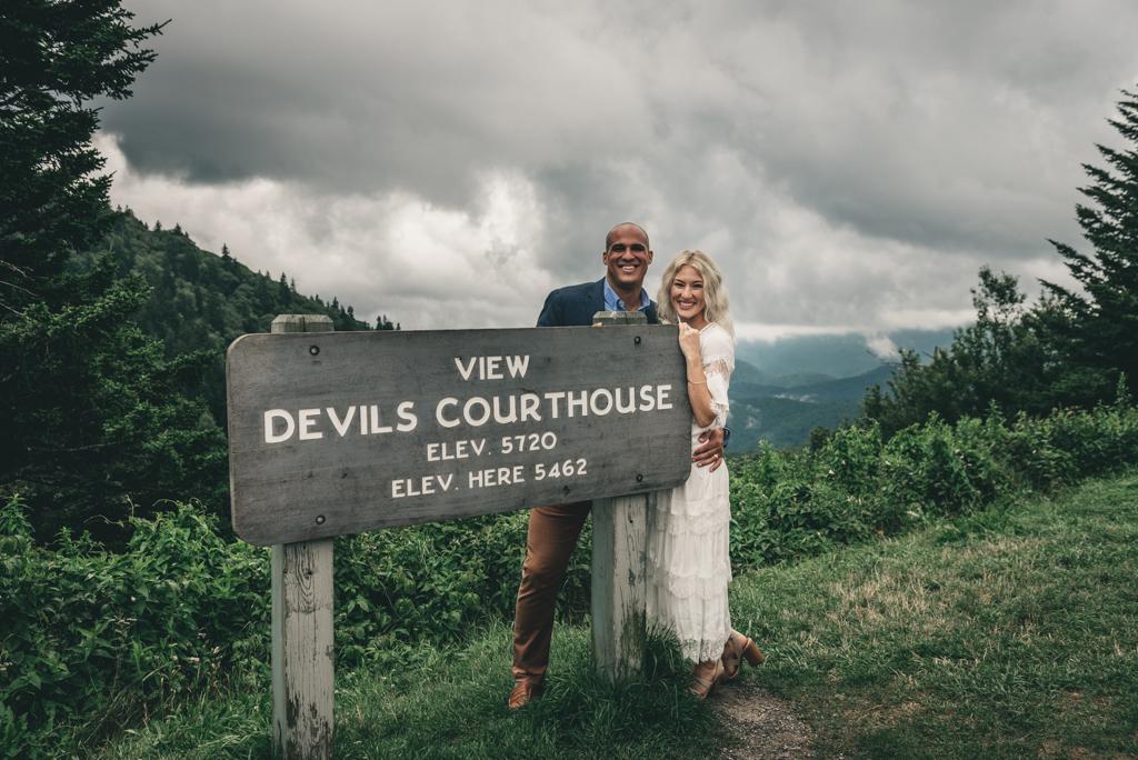 Devil's Courthouse Elopement Photographer-Sabrina L Greene