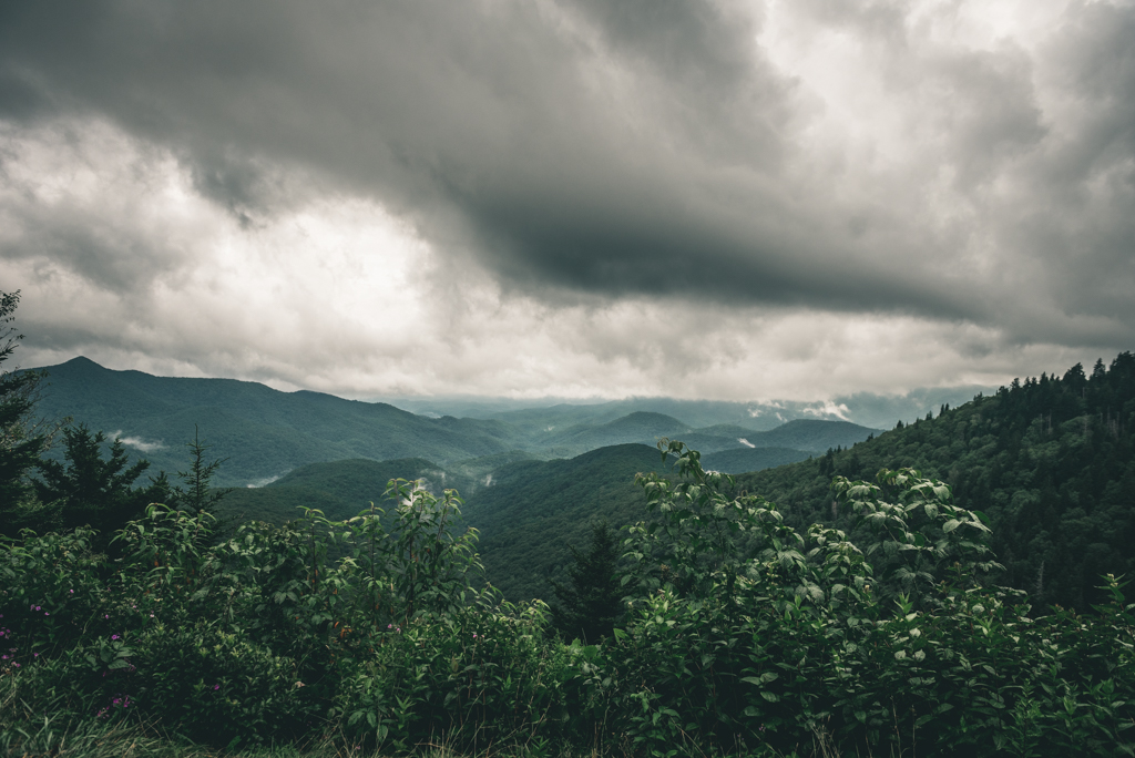 Devils Courthouse Tunnel Overlook-Sabrina L Greene Photography