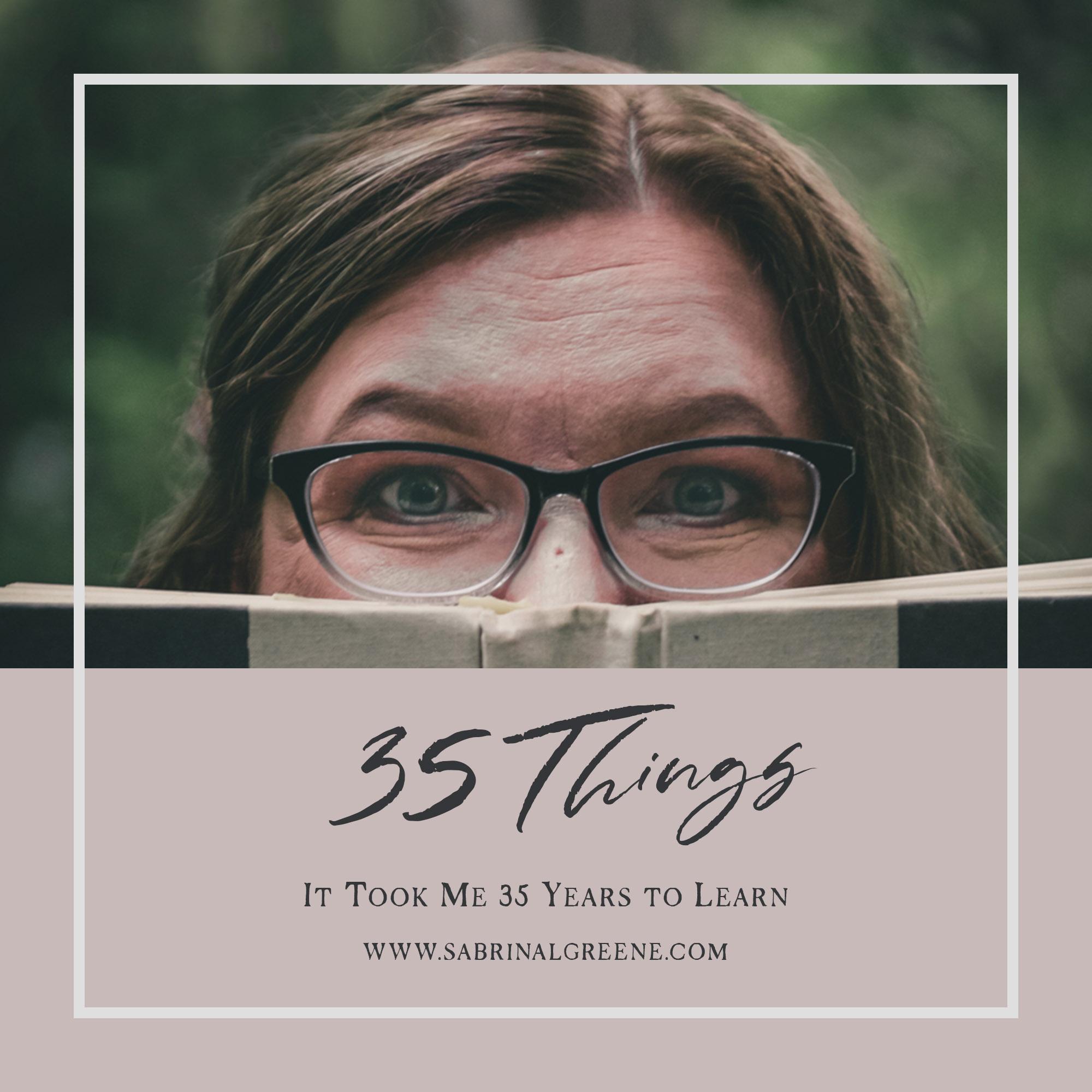 35 things