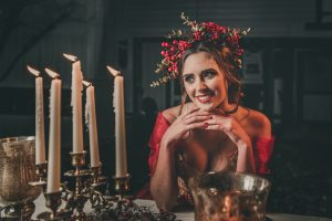 Belle Enjoying Her Candles Sabrina Greene Photography