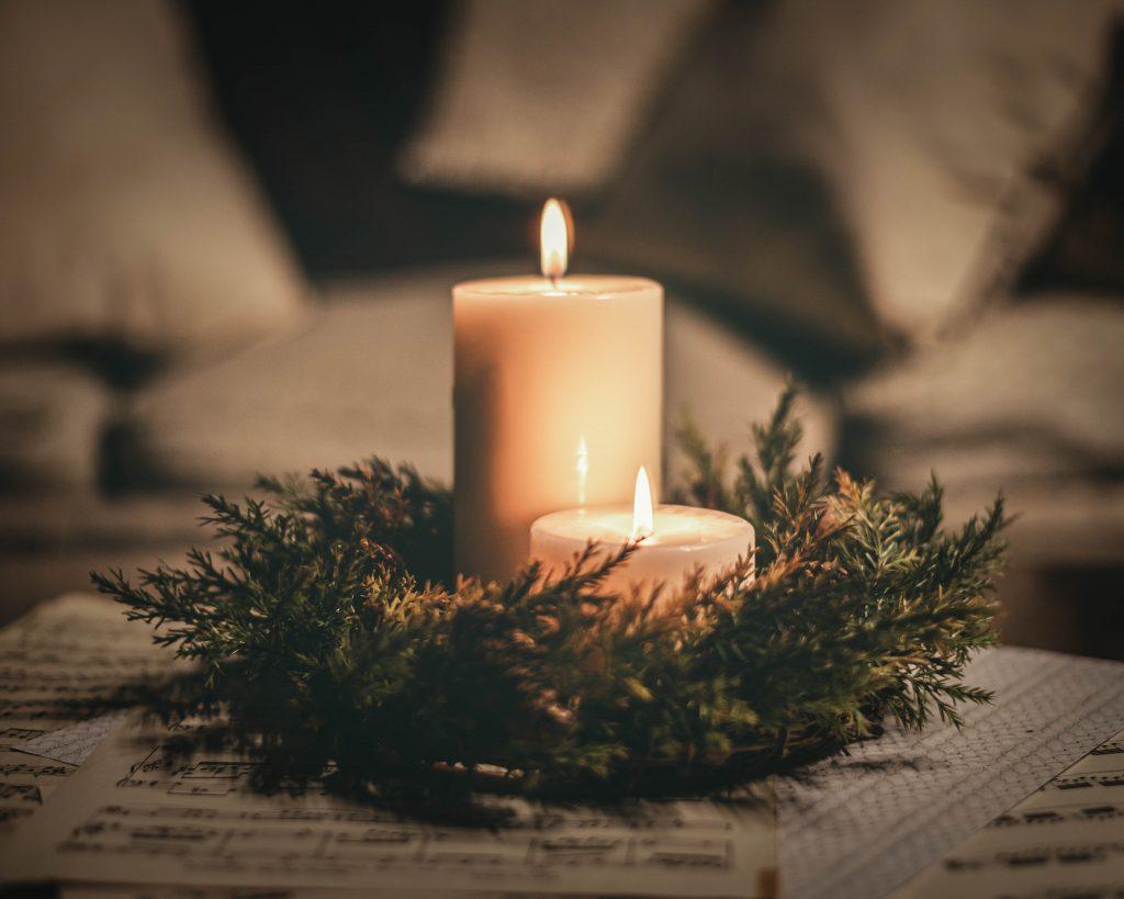 Christmas Candles Sabrina L Greene Photography-3
