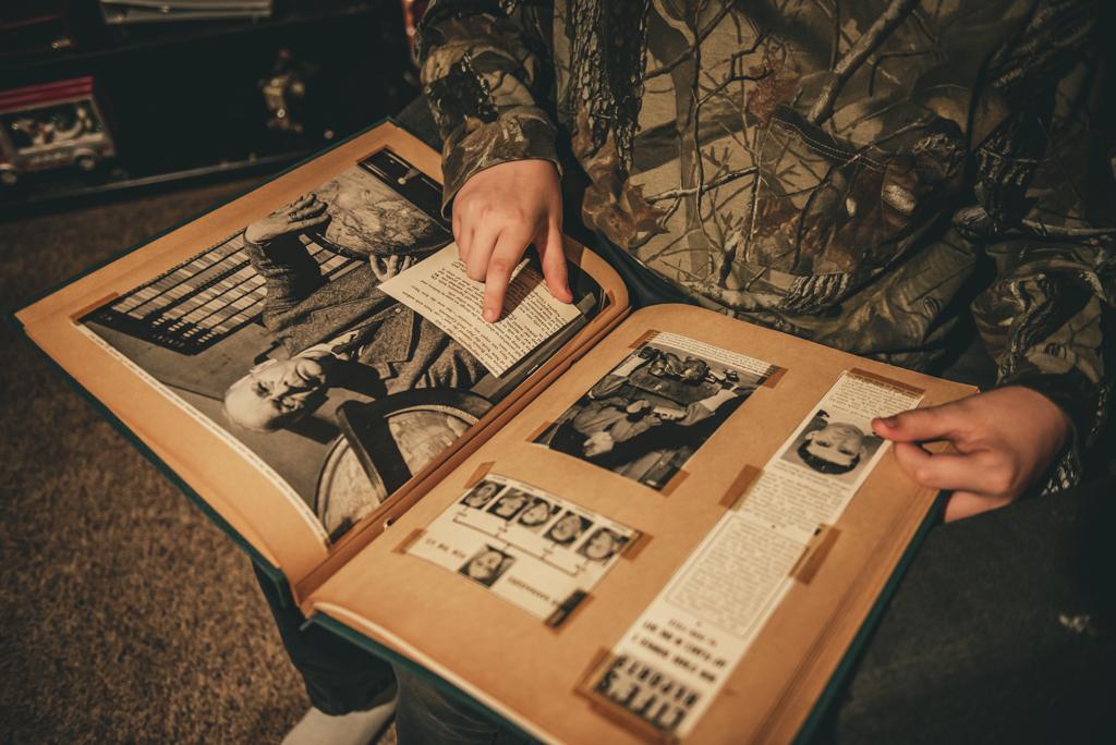 Vintage Scrapbook of Pearl Harbor Photographer Sabrina L Greene Photography
