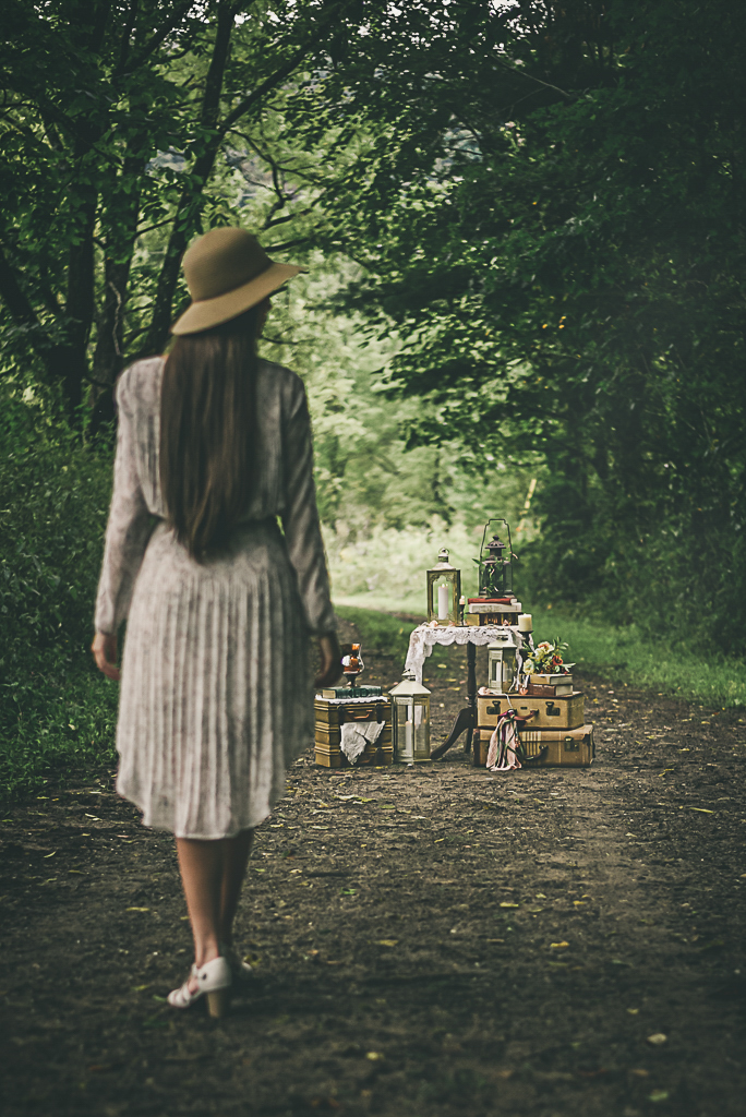 Wooded Road Style Shoot