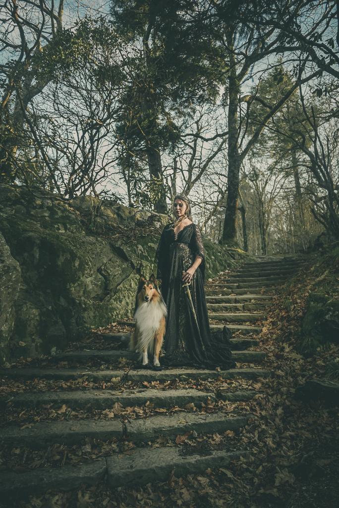 Fantasy Photoshoot Great Smoky Mountains Sabrina L Greene