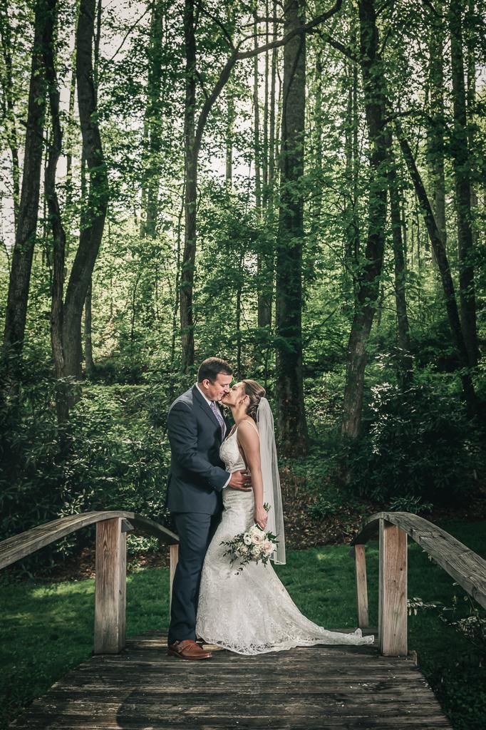 The Yellow House on Plott Creek Road Waynesville NC Wedding