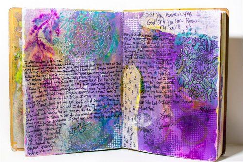 Mixed Media Journal 2 Sabrina L Greene